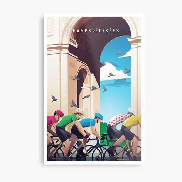 Champs-Élysées - Tour de France Metal Print