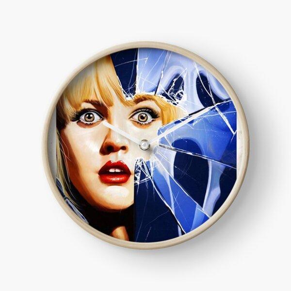 Scream Movie Poster Clock