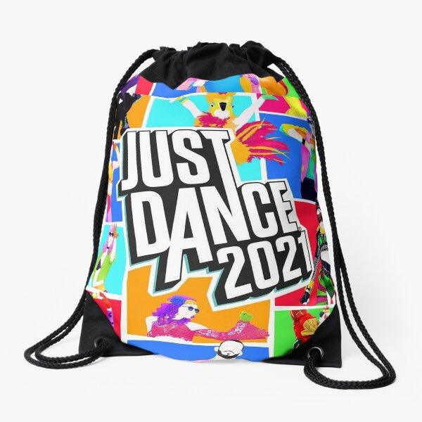 Just Dance Rainbow Drawstring bag