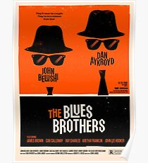 classic movie : The Blues Brothers Poster