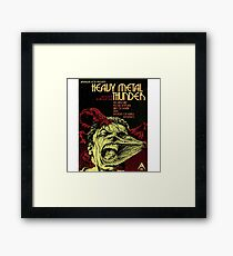 Heavy Metal Thunder Framed Print
