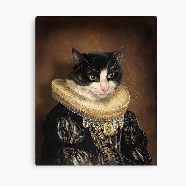 Cat Portrait - Samantha Canvas Print
