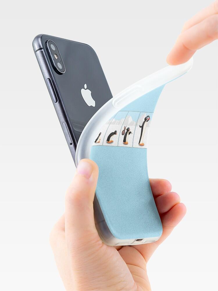 Alternative Ansicht von Die Pinguin-Evolution iPhone-Hülle & Cover
