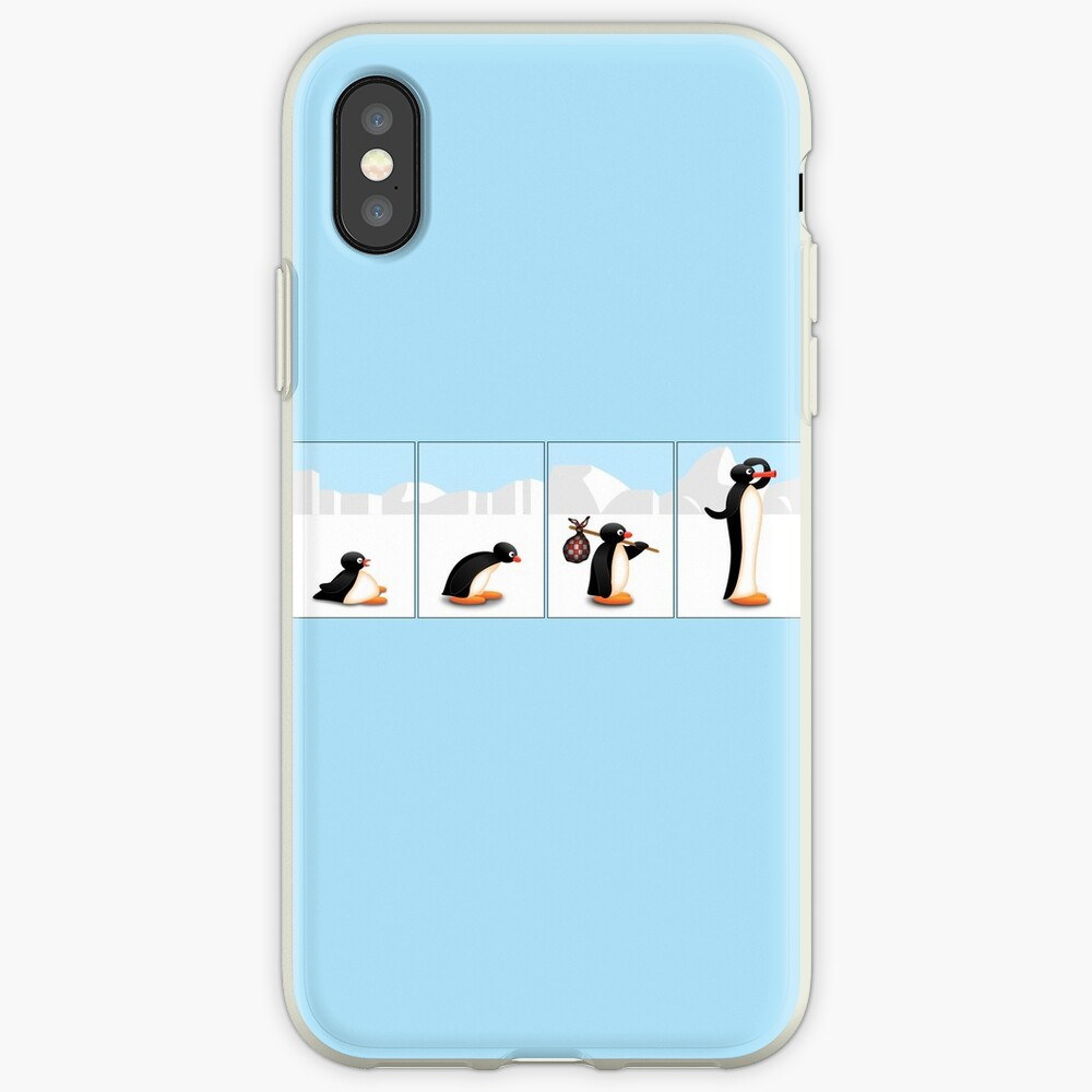 Die Pinguin-Evolution iPhone-Hülle & Cover