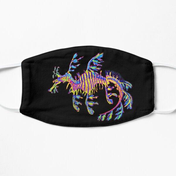 Neon Crystal Sea Dragon Flat Mask