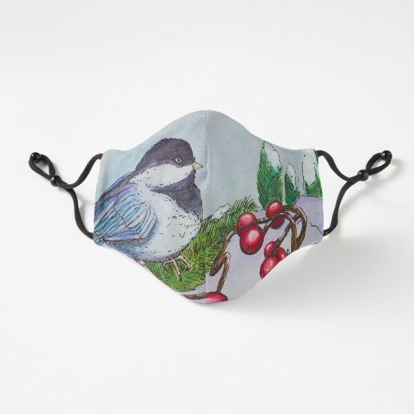 Chickadee - Winter Bird 1 Fitted 3-Layer