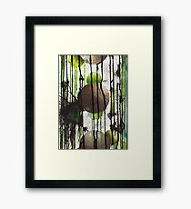nature subtracted from world Framed Print