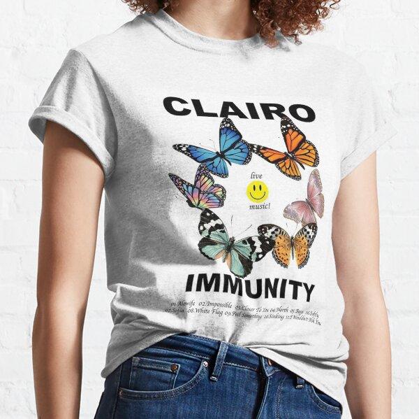 Inmunidad de Clairo con lista de canciones Camiseta clásica