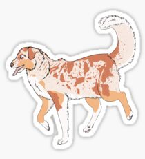 Red Merle Sticker