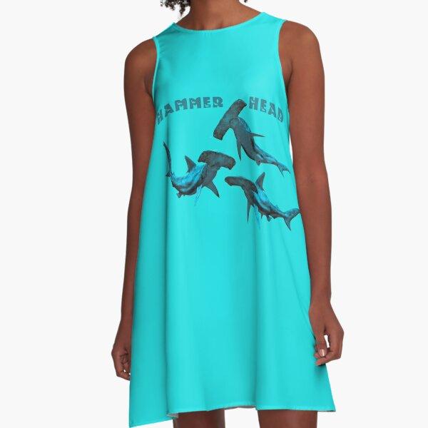 Hammerhead Sharks A-Line Dress