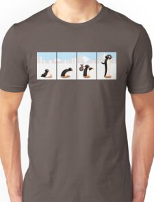 The penguin evolution Unisex T-Shirt