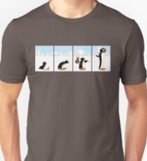 The penguin evolution T-Shirt