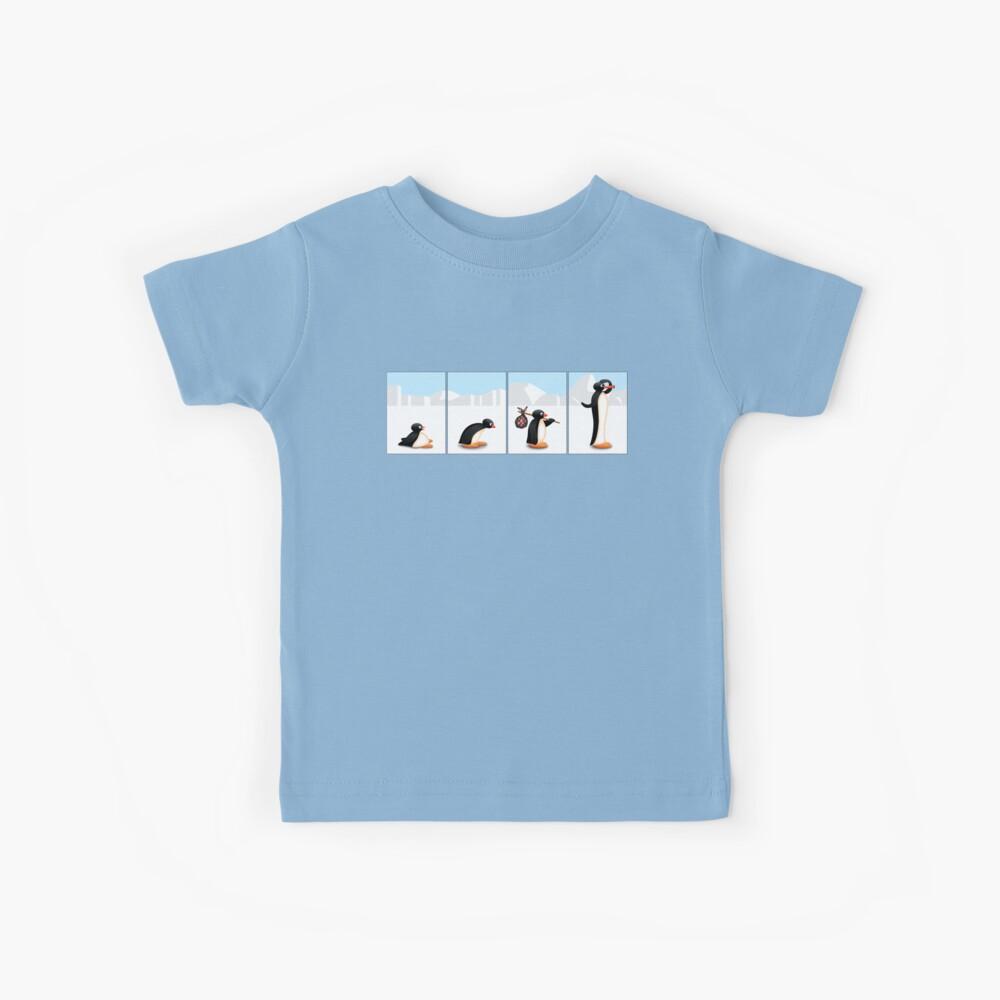 Die Pinguin-Evolution Kinder T-Shirt
