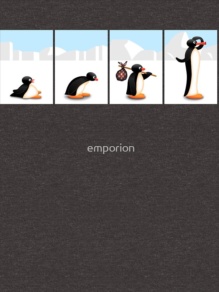 Die Pinguin-Evolution von emporion