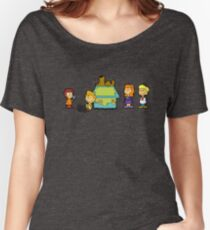Shaggy Brown and The Scooby Crew  Women's Relaxed Fit T-Shirt