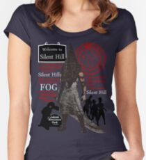 Silent Hill Women's Fitted Scoop T-Shirt
