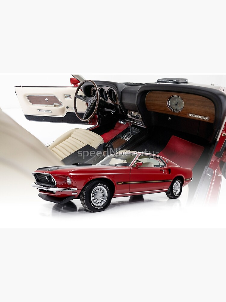 1969 Ford Mustang Mach 1 by speednbeauty