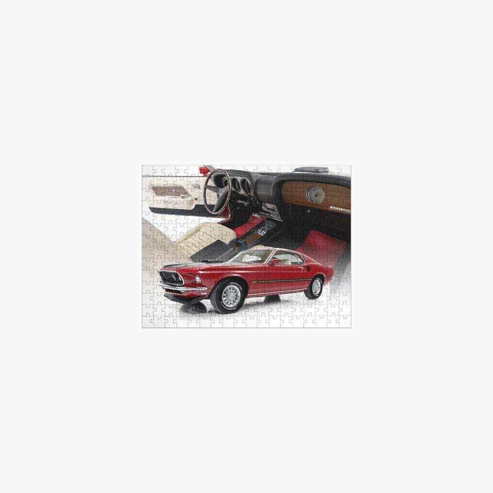 1969 Ford Mustang Mach 1 Jigsaw Puzzle