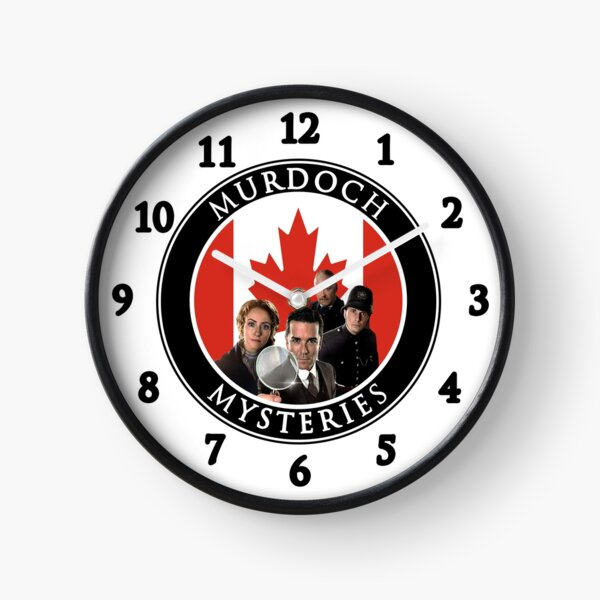 Horloge des mystères de Murdoch Horloge