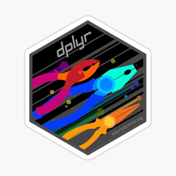 dplyr 2020 Hexagonal Sticker Sticker