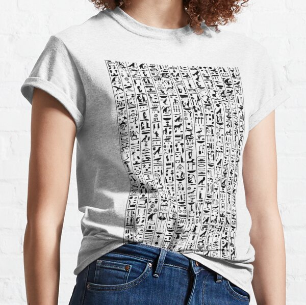 Hieroglyphics B&W Classic T-Shirt