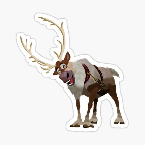 Sven the Reindeer Sticker