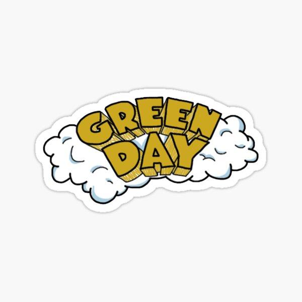 Green Day Dookie Logo Sticker