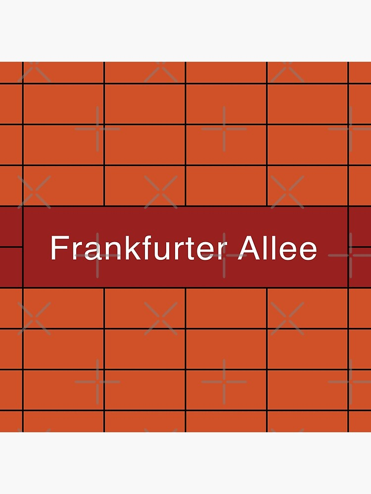 Frankfurter Allee Station Tiles (Berlin) by in-transit