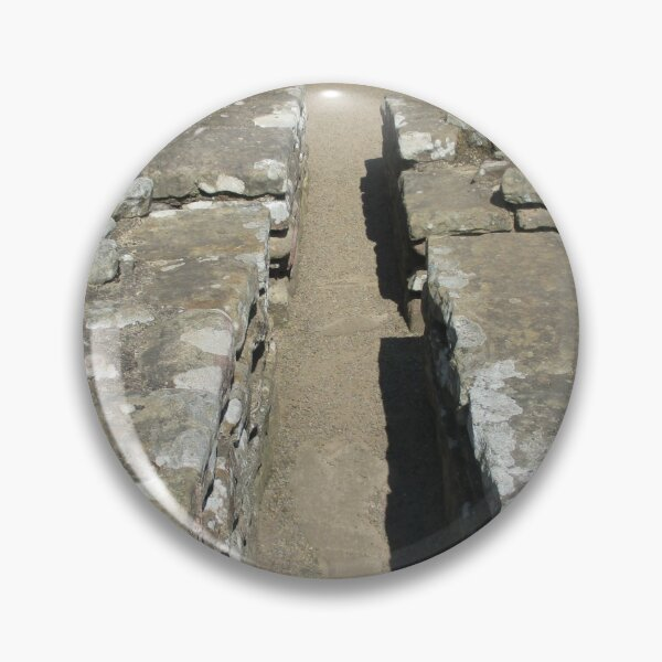 Merch #105 -- Route Between Rocks (Hadrian's Wall) Pin