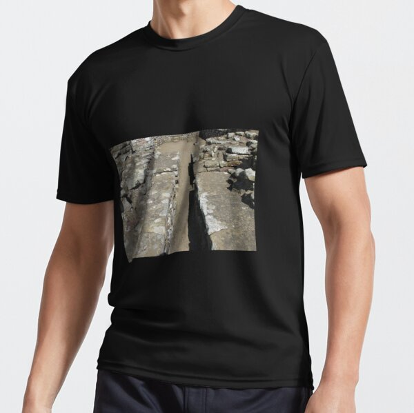 Merch #105 -- Route Between Rocks (Hadrian's Wall) Active T-Shirt