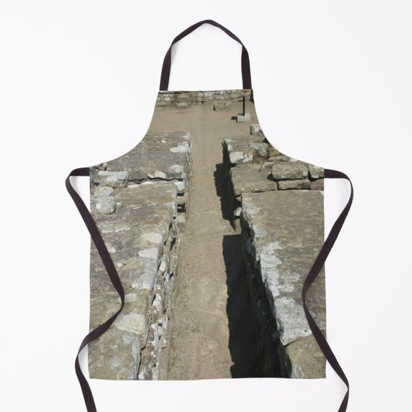 Merch #105 -- Route Between Rocks (Hadrian's Wall) Apron