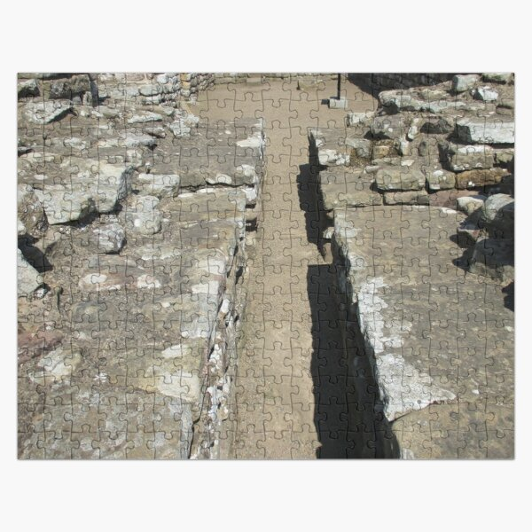 Merch #105 -- Route Between Rocks (Hadrian's Wall) Jigsaw Puzzle