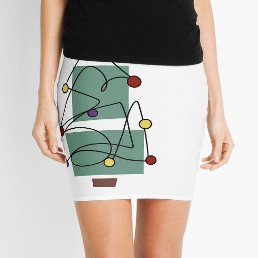 Festive Tree Mini Skirt