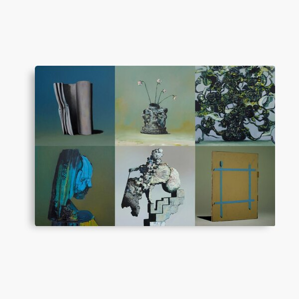 Everywhere at the End of Time by the Caretaker Album Cover Art Collection by Ivan Seal Canvas Print