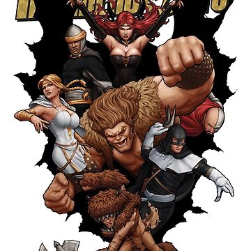 Thunderbolts Medieval by Barrykend