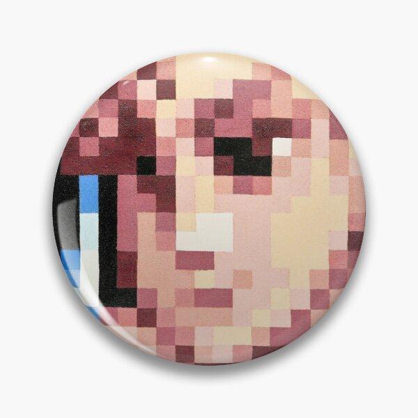 Chun-Li Pixel Portrait Pin