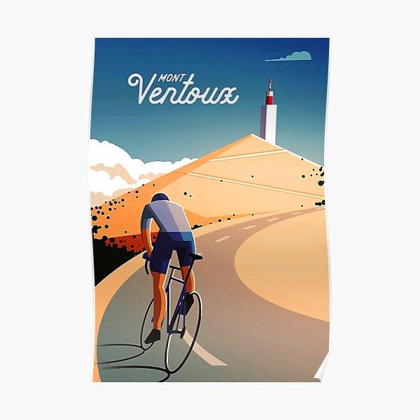 cyclisme mont ventoux Poster