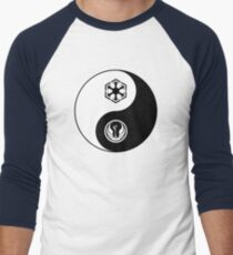 Ying and Yang, The Republic and the Empire Men's Baseball ¾ T-Shirt