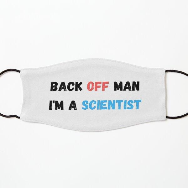 Back Off Man I'm a Scientist Kids Mask