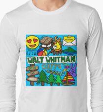 Walt Whitman Langarmshirt