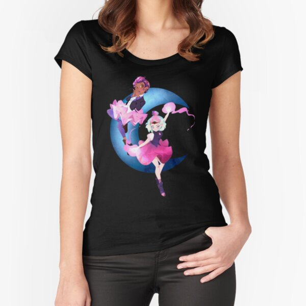 Crystalline Dance Partners Fitted Scoop T-Shirt