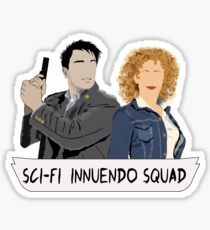Sci-fi Innuendo Squad Sticker