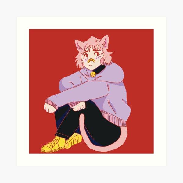 Catboy Art Prints | Redbubble