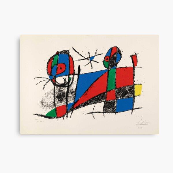 Peinture de Joan Miró Impression sur toile
