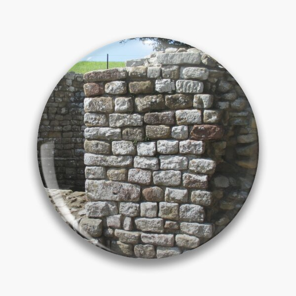 Merch #106 -- Architecture Alcoves (Hadrian's Wall) Pin