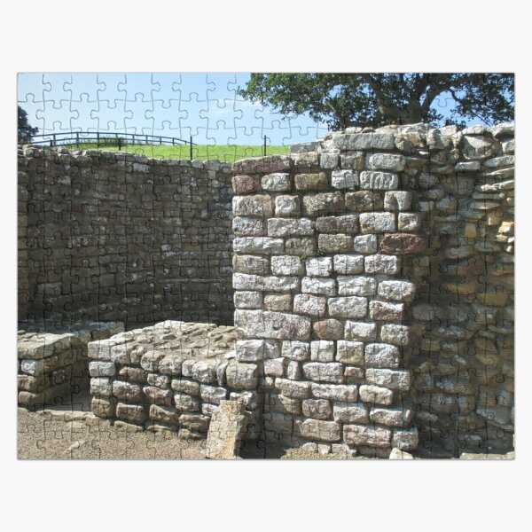 Merch #106 -- Architecture Alcoves (Hadrian's Wall) Jigsaw Puzzle
