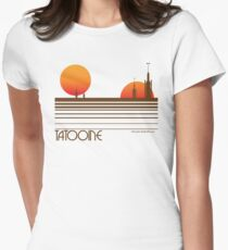 Visit Tatooine Women's Fitted T-Shirt