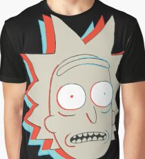Rick and Morty: 3D Rick Graphic T-Shirt