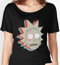 Rick and Morty: 3D Rick Women's Relaxed Fit T-Shirt