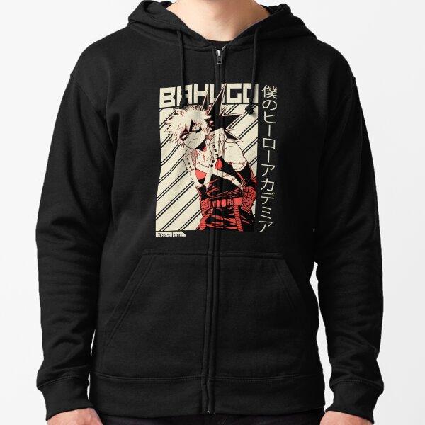 Katsuki Bakugo [My Hero Academia] Veste zippée à capuche
